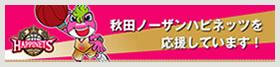 秋田ノーザンハピネッツを応援しています。